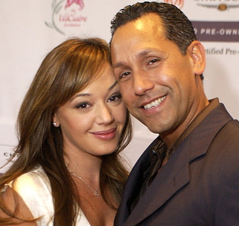 Angelo Pagan with Kone Leah Remini