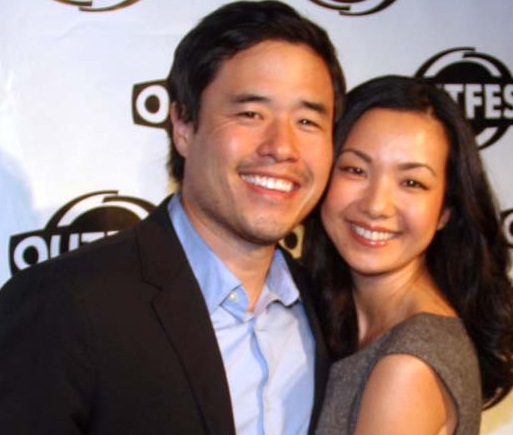 Randall Park with cool, hot, beautiful, Wife Jae Suh Park