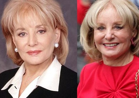 Barbara Walters Young, Plastic Surgery and Dead