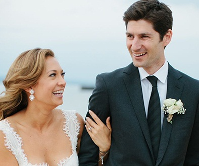 Ginger Zee Wedding, Married and Husband